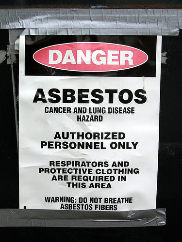 Danger Asbestos Photo
